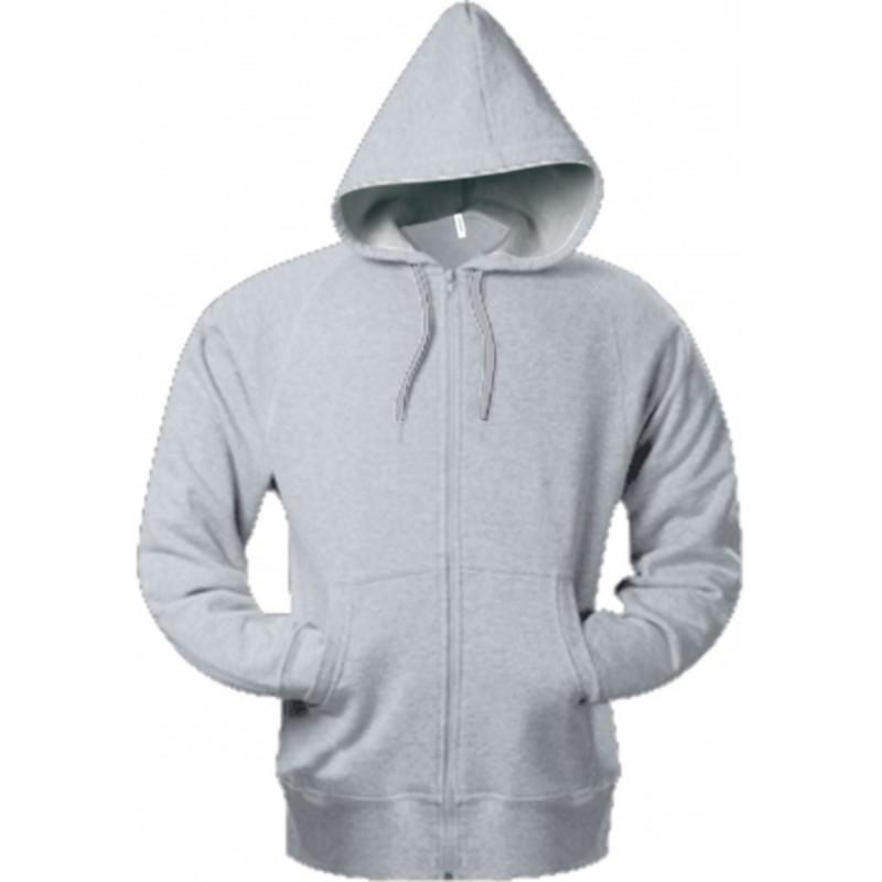 RIDER Sweat-shirt vintage zippé à capuche