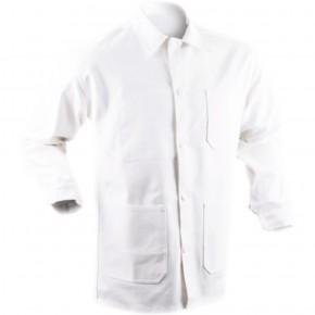 A1C Veste 100 % coton blanc