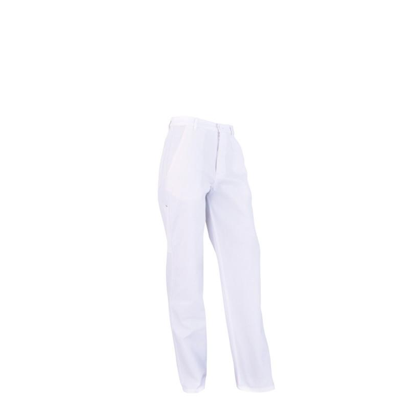 B1CP Pantalon coton/polyester blanc