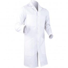 D1CP Blouse coton/poly blanc
