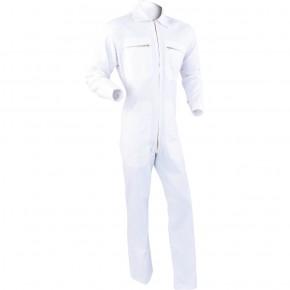E1C Combinaison 100 % coton blanc