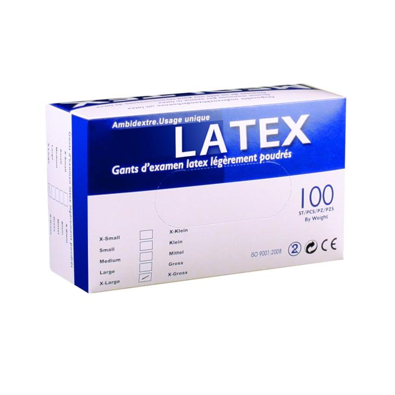 GANTLATEX jetable boite de 100