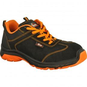Chaussures cuir velours noir