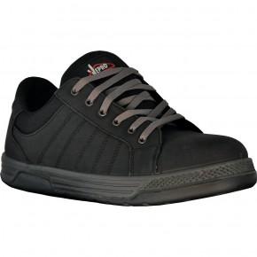 MANIBASSE Chaussures basses cuir nubuck noir S3