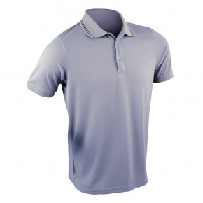 POLOTECH GRIS Polo maille technique gris