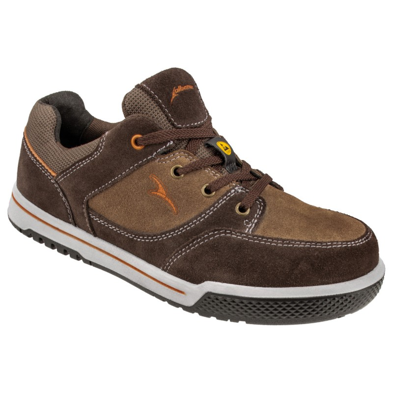 TENERE Chaussure marron cuir velours S3