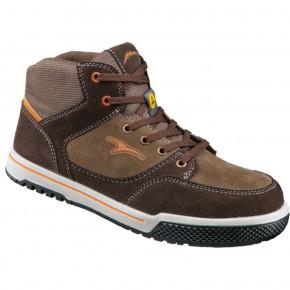 TENERE HAUTE Chaussure haute marron cuir velours S3
