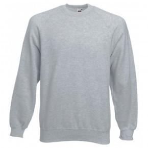 Sweat-shirt couleur col rond emballé