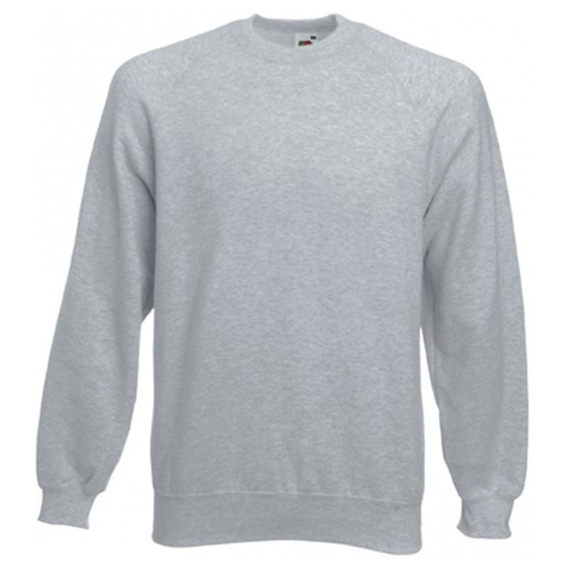 Sweat-shirt couleur col rond emballé
