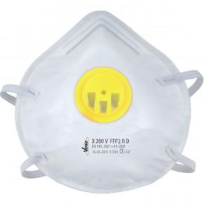 FFP2 Demi masques filtrant  en sachet de 3