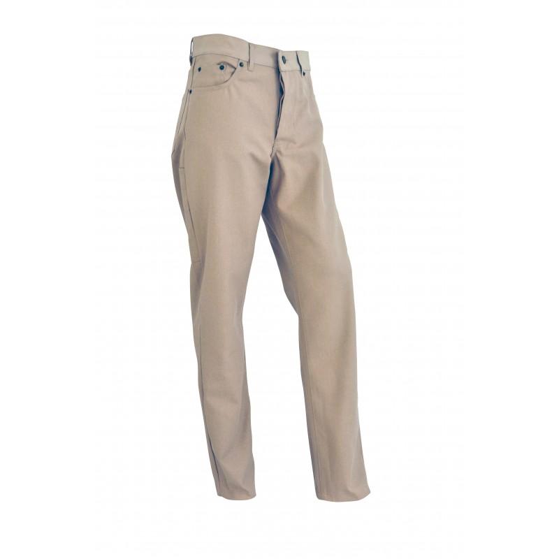 J3 Jean's coton/poly beige (jusqu'à épuisement des stocks)