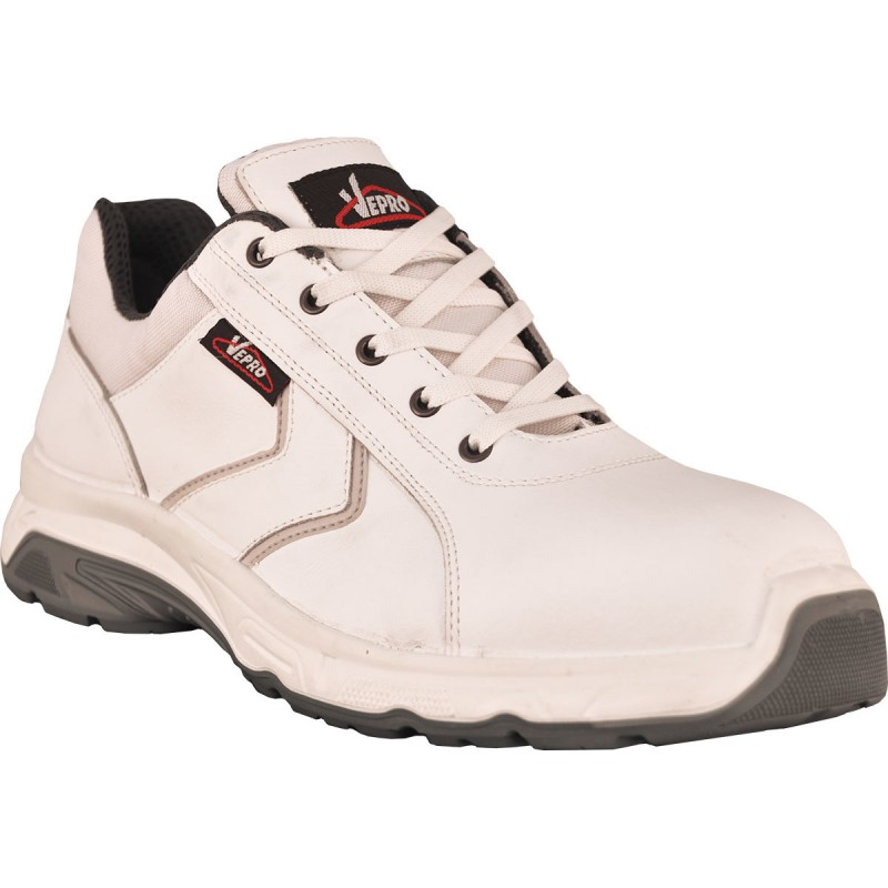 MONZA2 Chaussures blanches cuir S3