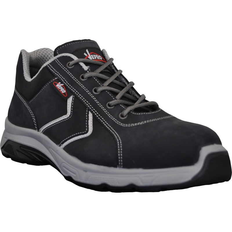 MONZANO2 Chaussures cuir nubuck noir S3