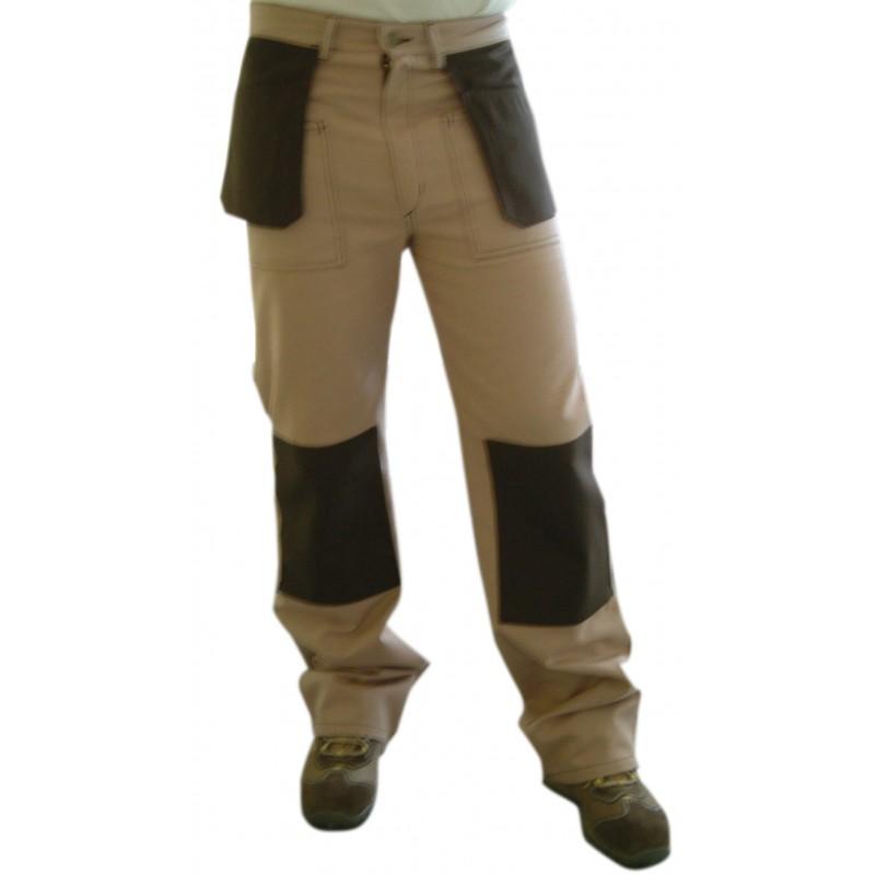PMP Pantalon multipoches coton/polyester