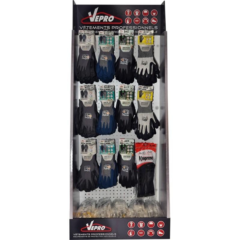 Présentoir gants (Offert pour l'achat de 5 x12 paires de gants)
