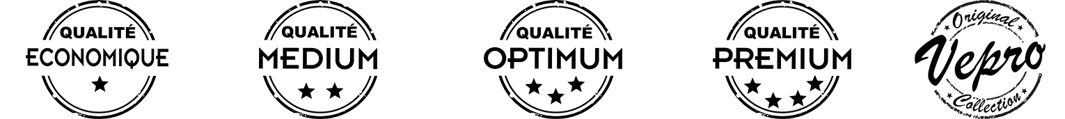 logo banniere vepro qualité medium optimum premium vintage